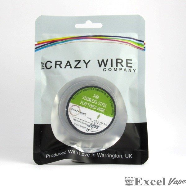 316L SS Flattened Wire - Crazy Wire