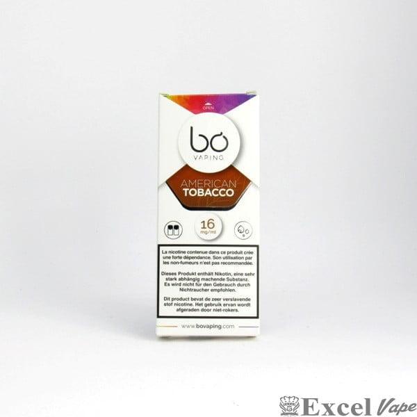 Bo Vapeing Cap - American Tobacco