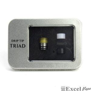 Αγοράστε τώρα το FUMYTECH TRIAD DRIP TIP στην εκπληκτική τιμή των 7,90 € στο κάταστημά μας www.exlvape.gr